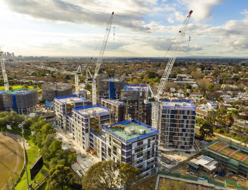 Lendlease Construction Site – Drone Video